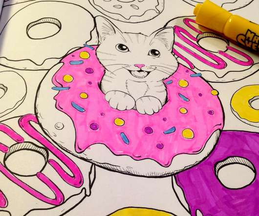 Cooking With Cats Coloring Book And A Giveaway